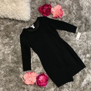 Bar lll Textured Asymmetrical Dress Women size S